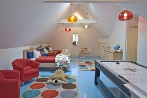 缤纷彩色儿童房设计