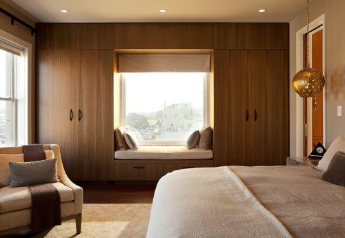 新古典臥室飄窗美圖