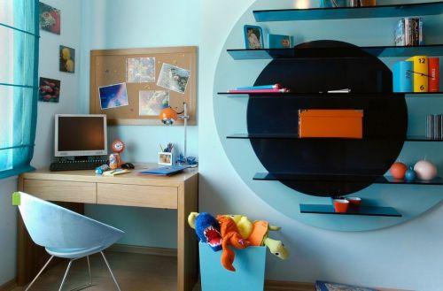 宜家风格儿童房装修效果图大全