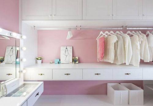 单身女士的粉蓝色公寓 暖暖的一居室
