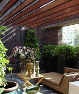家庭小花园设计
