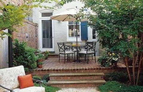 家庭简单小花园