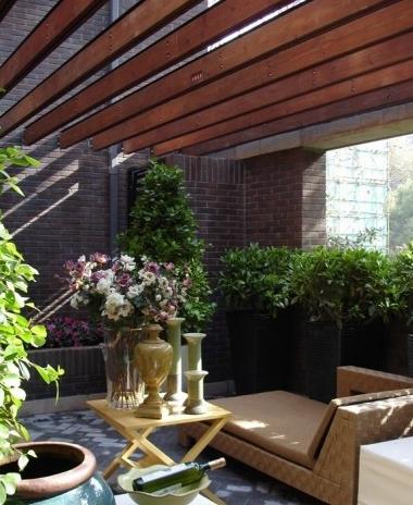 舒适小花园设计