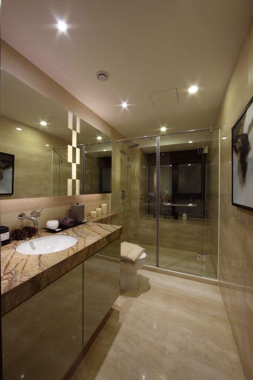简单的卫生间装修图
