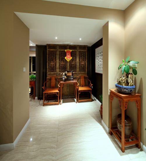中式古典玄关装潢