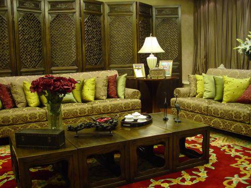 中式客厅设计