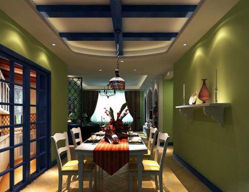 地中海风格餐厅装修