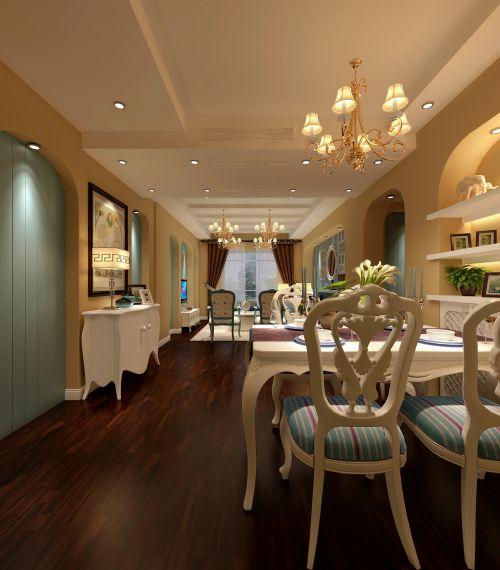 地中海风情餐厅装潢