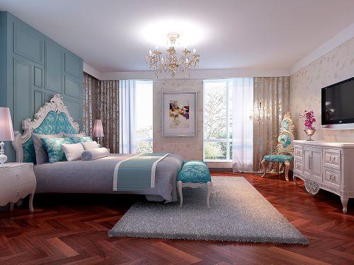 浪漫田园风格卧室设计