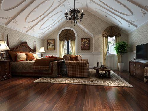 古典阁楼卧室装潢