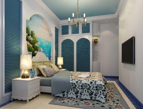 地中海卧室装潢