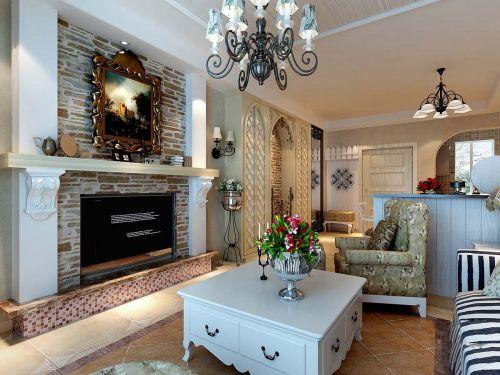 温馨的美式客厅设计