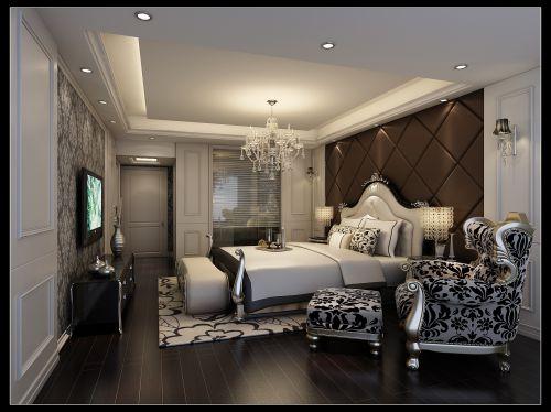 轻奢卧室装修风格图片