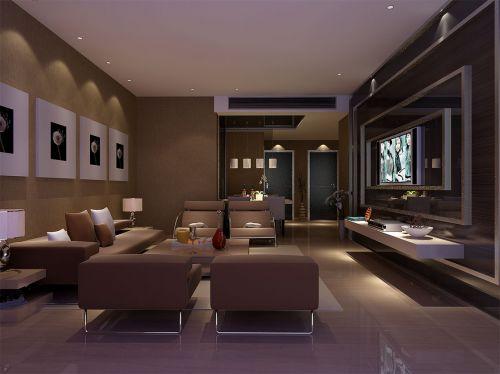 中式简约客厅装潢