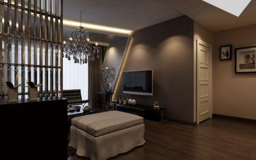 公寓式小客厅装修效果图