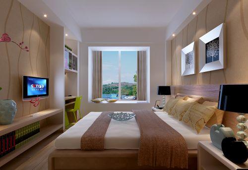 东南亚简约卧室装修图