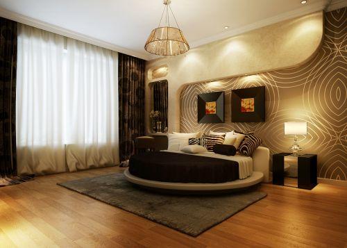 现代简约卧室装修榻榻米