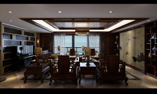 古风淳淳的客厅设计