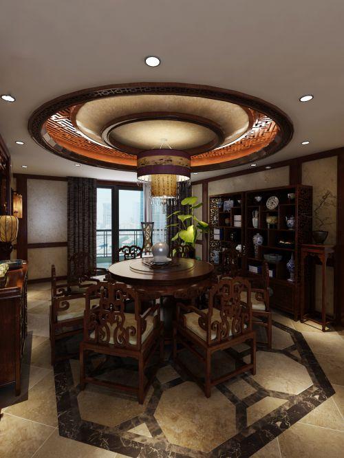 中式古风餐厅设计