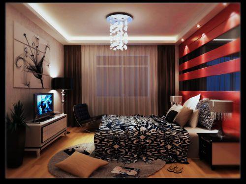 时尚混搭的卧室装修