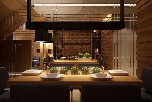 田园小别墅餐厅设计