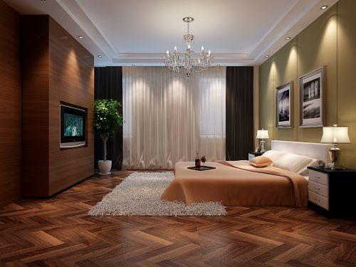 简约卧室装修榻榻米设计