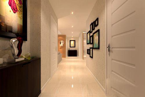 白色简约的玄关走廊装修