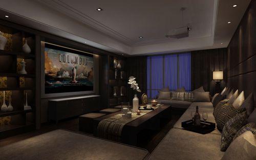 美式狂野的客厅装修