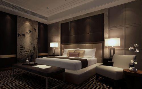 舒适的卧室效果图