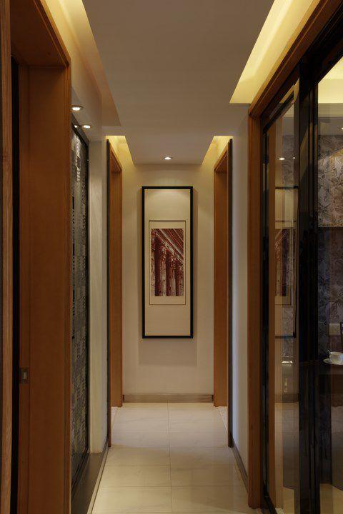 米色卧室走廊装潢