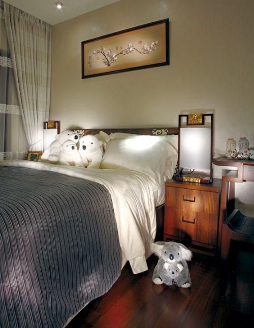 新中式儿童卧室装潢