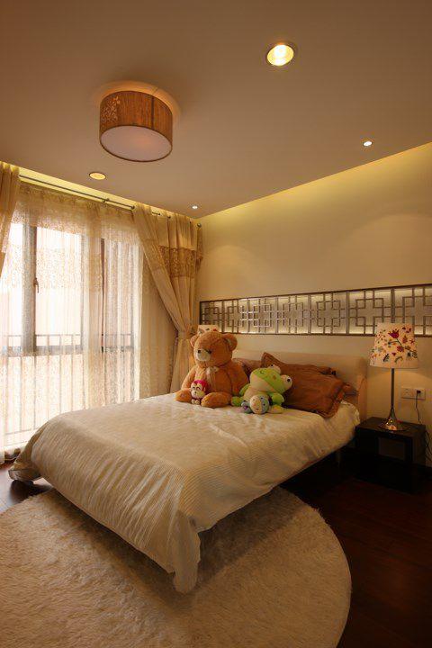 米色温馨的儿童房装修