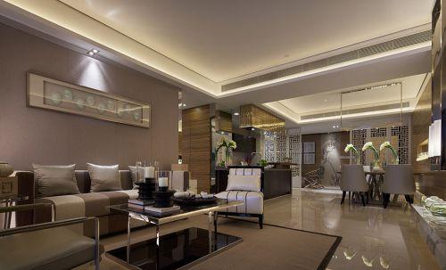 灰色的美式客厅装潢