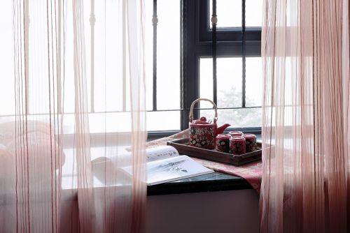 东南亚风格卧室窗台设计