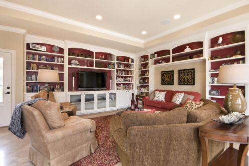 美式简约客厅装修效果图欣赏