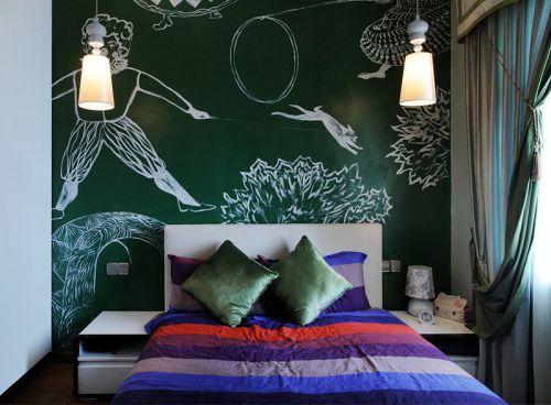 东南亚风情卧室效果图