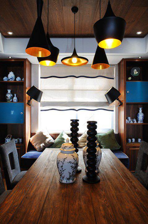 地中海风格餐厅吊顶装潢