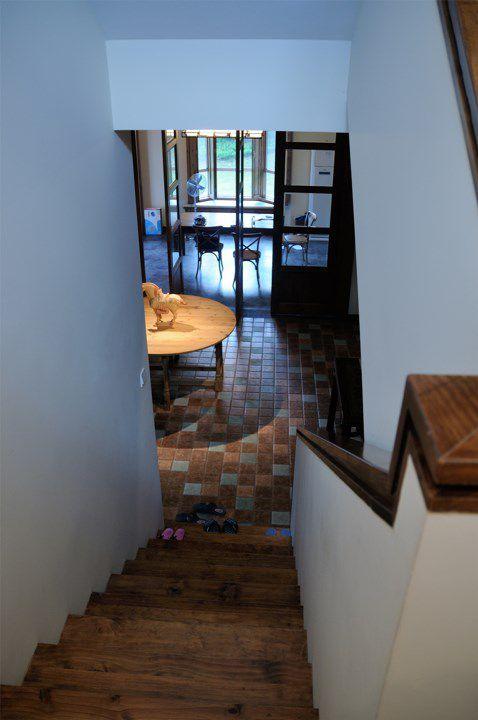木质简约楼梯设计