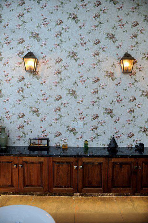 印花墙面客厅装潢