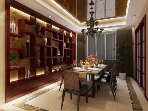 优雅有情调的餐厅效果图