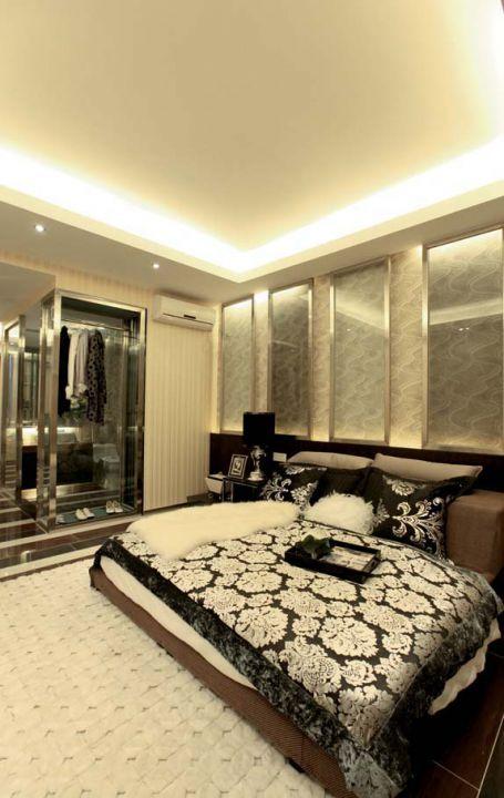 简欧式卧室装修图