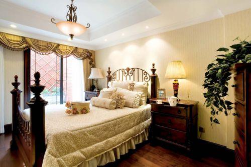 时尚美式小卧室装修效果图