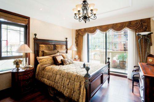 美式主卧室装修效果图