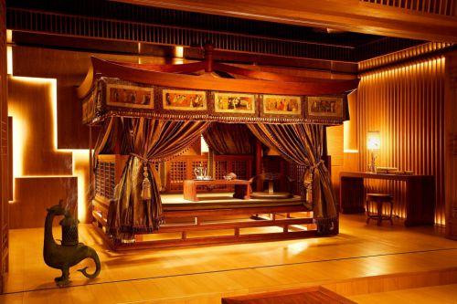 古色古香的古典卧室装潢