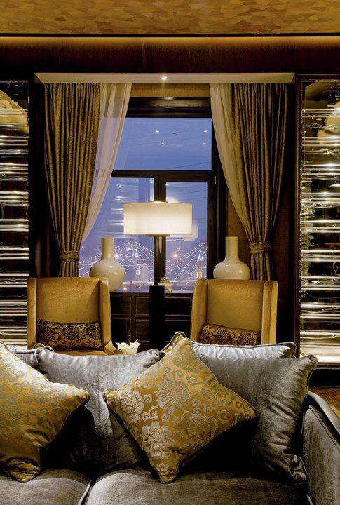 美式优雅的客厅装修