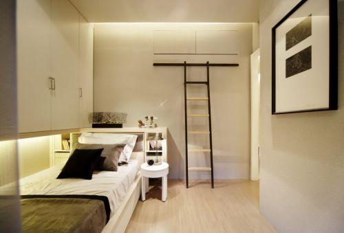 简单时尚小卧室装修效果图