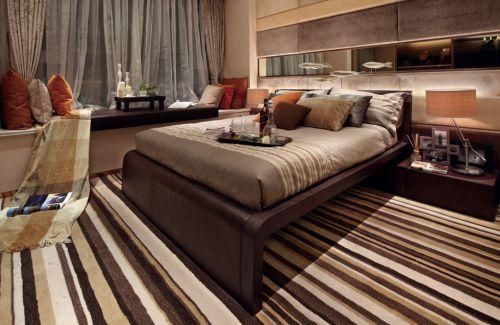 时尚混搭卧室装修设计