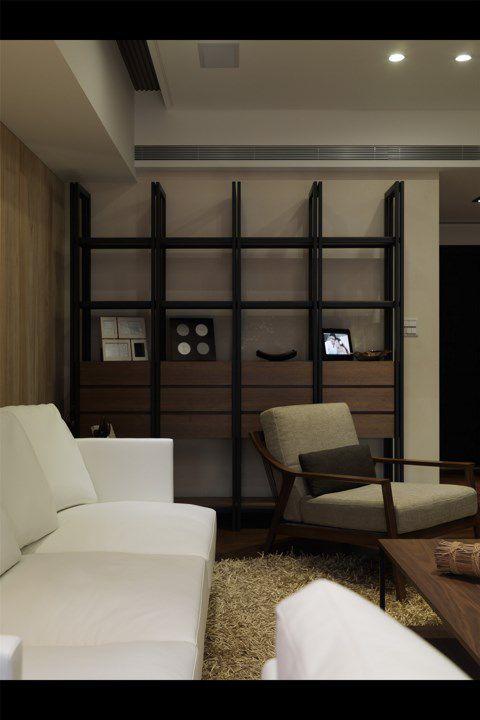 白色沙发简约客厅设计