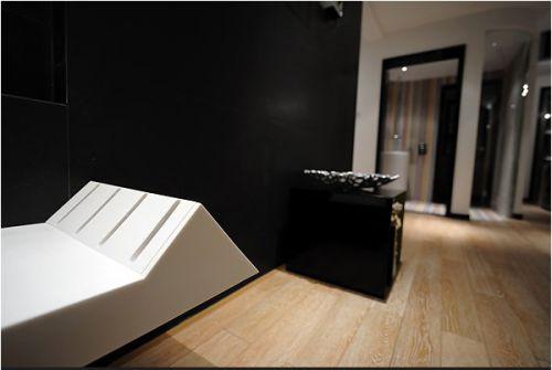 现代简约客厅一角装修