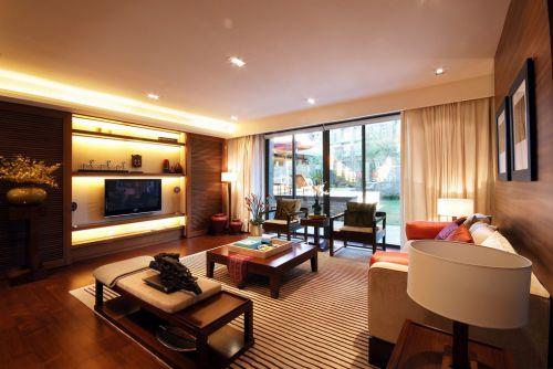 简约舒适的客厅装潢